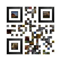 visual QR code art