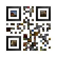 visual QR code art