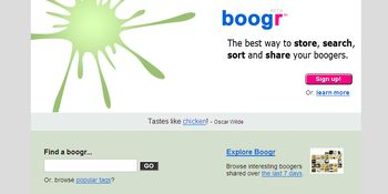 Boogr - From the makers of Flickr