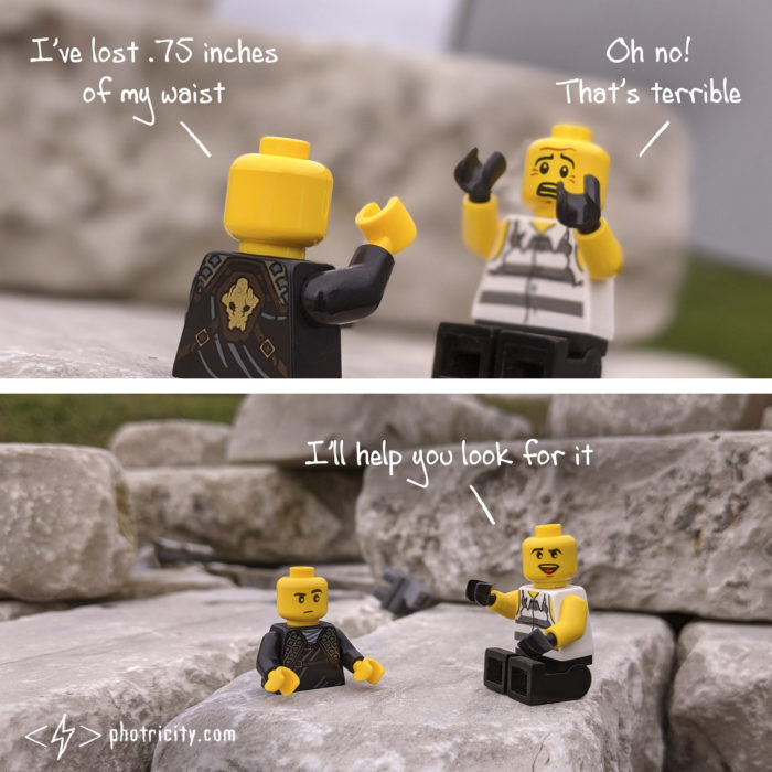 Lego weight loss