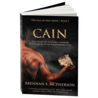 Cain book by Brennan McPherson