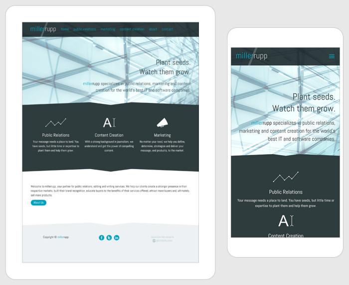 Web Design for millerrupp